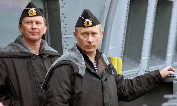 Путин морнарица
