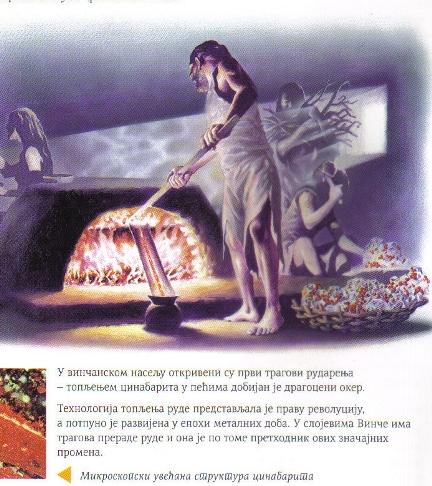 vinca metalurgija Србија је колевка металургије