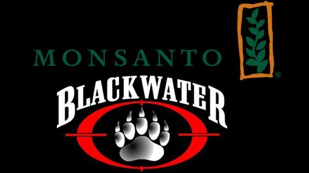 monsanto blackwater ГМО храна (2): Убице и Гејтс у служби Монсанта