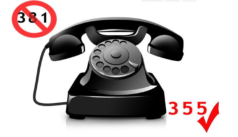 pozivni broj