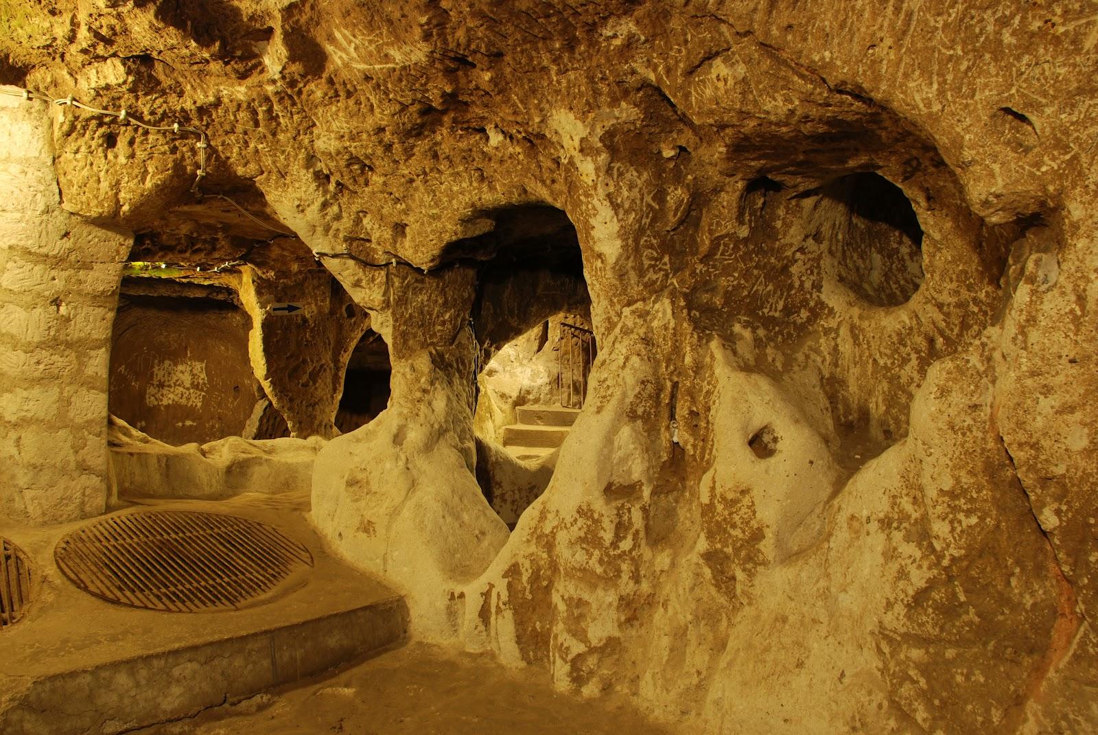 Derinkuyu+Underground+City2 Пет древних грађевина које уопште ни не би требало да постоје