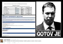 Твит Зоран Живковића о власништву Андреја Вучића над фирмом АСОМАЦУМ
