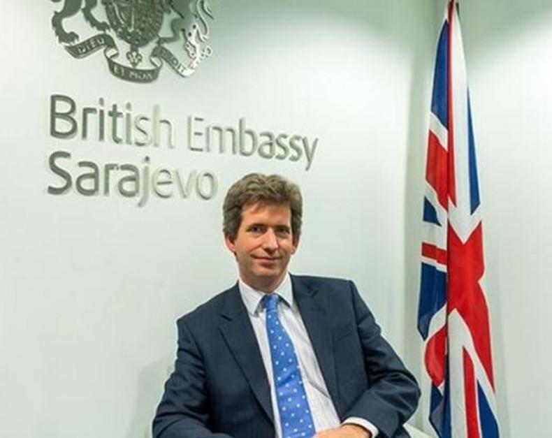 Rezultat slika za britanski ambasador u bih