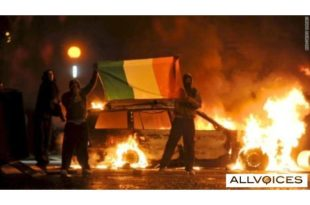 Belfast riots: More video of 'Molotov cocktail' battles in N. Ireland 7