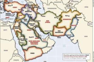 Велики Блиски исток и колонијални ратови