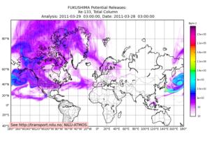 Fukushima Radiation Spreads Worldwide