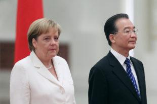 Меркел с премијером Кине о спасу евра