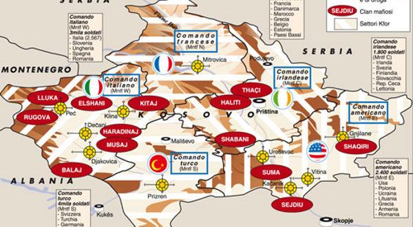 шиптарски фисови на Косову и Метохији