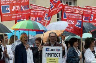Једночасовни штрајк упозорења у здравству