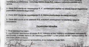 Караџић-Холбрук: Рукопис на провери графолога 8