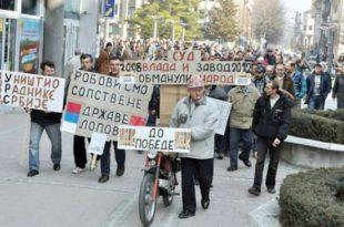 Безнађе незапослених радника Србије