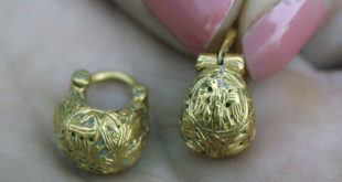 Пронађене златне минђуше с грбом Немањића 1