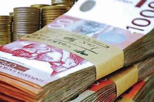 Државне плате порасле за 5,4 одсто 1