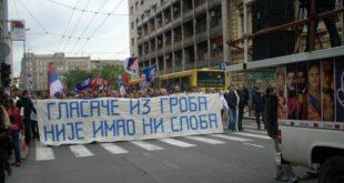 Београд, 17.мај 2012. Протест Двери због изборне крађе 6