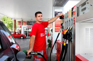 Дизел и гас скупљи седам, бензин 3, 5 динара