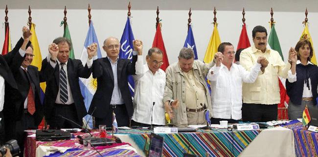 Јужна Америка стала на страну Еквадора 1