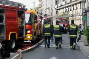 Десет ватрогасних екипа из Србије гасе пожар на Светој Гори