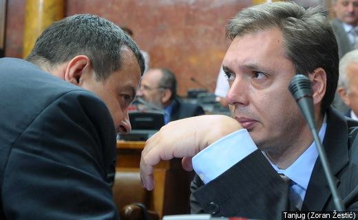 Српска влада, велеиздајнички конгломерат