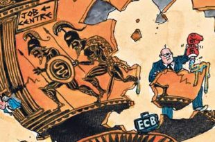 Европска Централна банка разапиње Грчку и Шпанију