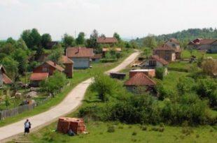 У Србији пред гашењем 1.200 села
