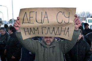 У Србији више од два милиона грађана живи у ризику од сиромаштва, а око пола милиона у апсолутном сиромаштву