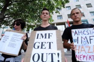 Мађарска у кампањи против ММФ-а