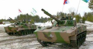"""БМД-4М нова верзија оклопног возила прави """"свећу"""" и плива  1"""