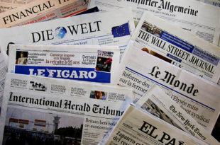 Криза десетковала европску штампу