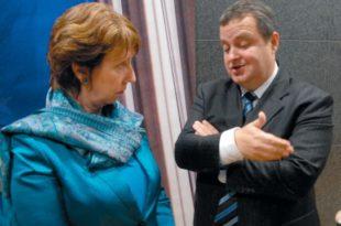 Квислинг Дачић у поверљивом разговору са шефицом