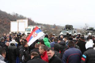Окупатор зауставио српске привреднике пред Јарињем