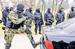 Службе безбедности и специјалне јединице – ударне снаге у борби против тероризма