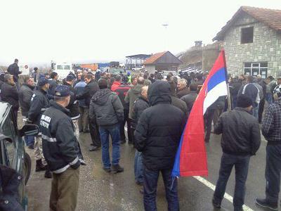 Протест привредника на Јарињу. Нећеш проћи ! Буши ...(видео)
