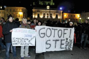 """У Словенији """"општенародни устанак"""""""