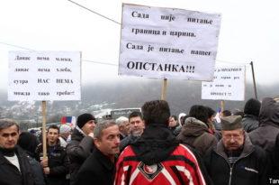 Косово и Метохија: Привредници не одустају од блокада 8