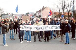 Влада забрањује штрајк радницима?!