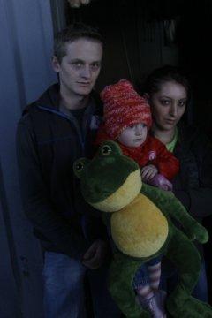 Драган Ђокић са супругом Наташом и ћерком Николином