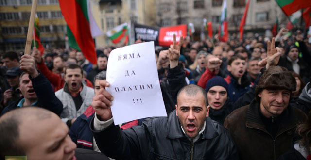 Нови протести у Бугарској (видео) 1