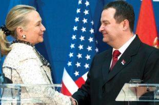 Клинтонова хвали велеиздајника Дачића