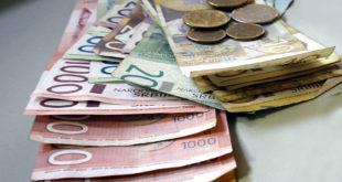 Јануарске плате у Србији мање за 17 одсто 6