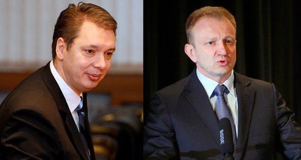 Ђилас и Вучић направили коалицију у Шапцу 1