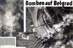 Данас 72 године од немачког бомбардовања Београда (видео)