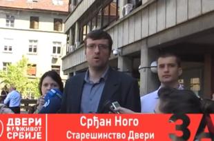 Двери предале кривичне пријаве против Владе и преговарача из Брисела (видео)