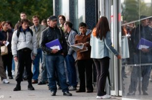 Рекордна незапосленост у еврозони