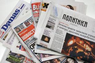 Фридом хаус: Србија напушта демократске принципе, већину медија контролише СНС