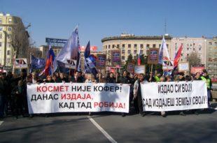 """Радикали: Велики народни протест """"Не дамо Косово и Метохију"""""""