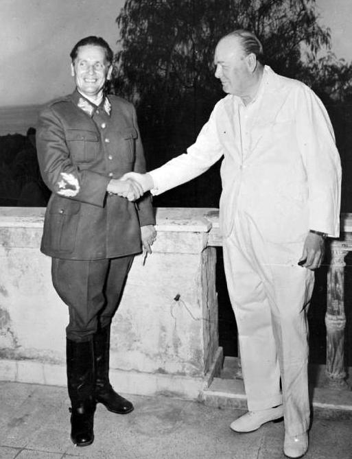 Tito-Churchill masonski pozdrav