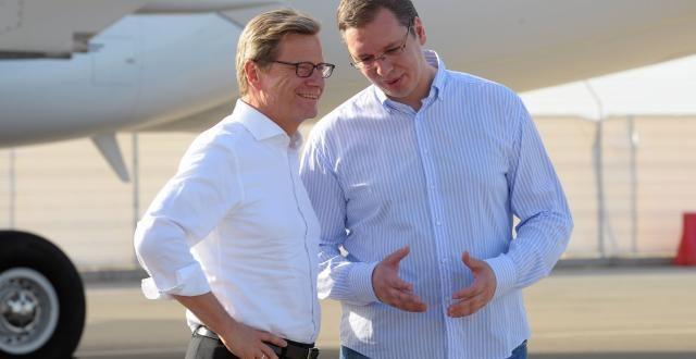Вучић: Langsam Guido, langsam...