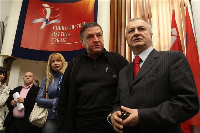 Милутин Мркоњић и Ненад Огњеновић