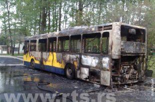 Трећи аутобус ГСП-а који је потпуно изгорео за мање од недељу дана