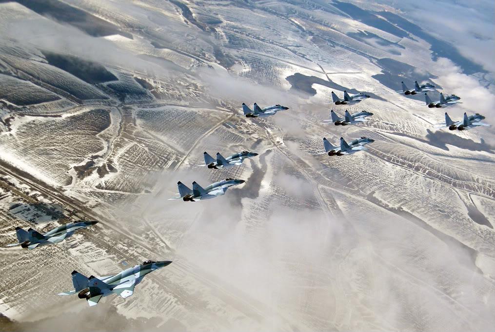 Eskadrila MIG-29 SMT u formaciji